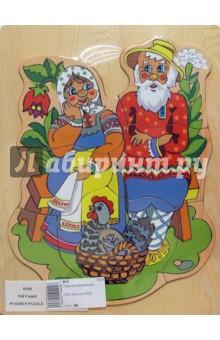 Курочка Ряба (D104)Сборные 2D модели и картинки из дерева<br>Игрушка предназначена для детей до 6 лет.<br>