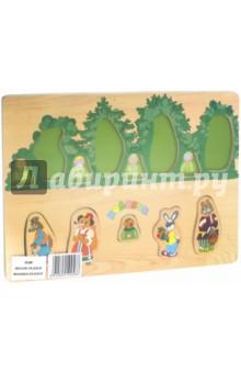 Колобок в лесуСборные 2D модели и картинки из дерева<br>Игрушка предназначена для детей до 6 лет.<br>