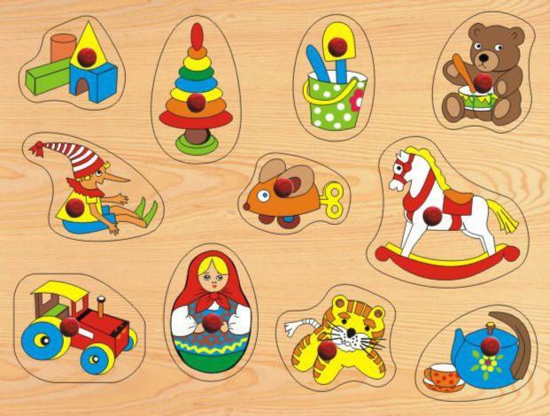 """Иллюстрация 1 из 5 для Развивающая деревянная игра """"Игрушки"""" (D111)   Лабиринт - игрушки. Источник: Лабиринт"""