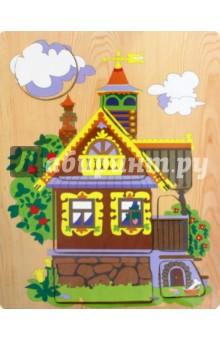 Деревенский дом (D113)Развивающие рамки<br>Игрушка предназначена для детей до 6 лет.<br>Материал: дерево<br>Производство: Китай<br>