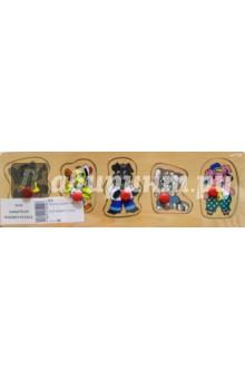 Зверята 1Сборные 2D модели и картинки из дерева<br>Игрушка предназначена для детей до 6 лет.<br>