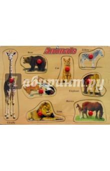 Animals (животные)Развивающие рамки<br>Игрушка предназначена для детей до 6 лет.<br>