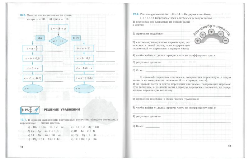 Математика 6 класс рабочая тетрадь