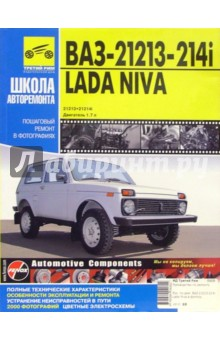 ВАЗ 21213, -21214i Lada Niva: Руководство по эксплуатации, техническому обслуживанию и ремонту