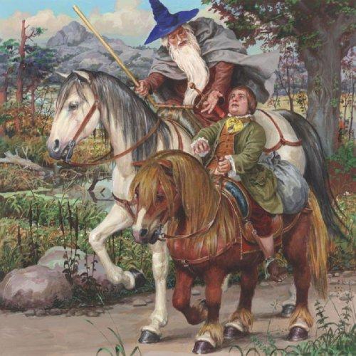 Иллюстрация 1 из 63 для Хоббит, или Туда и Обратно - Толкин Джон Рональд Руэл | Лабиринт - книги. Источник: Лабиринт