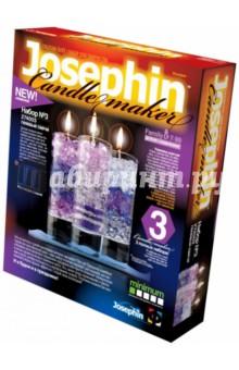 Гелевые свечи. Набор №3 (274003)Работаем с воском, гелем, мылом<br>Делаем гелевые свечи!<br>В предлагаемом наборе Вы найдете две баночки геля, три стаканчика, три отрезка фитиля, цветной песок, пакетик с блестками, пластмассовый нож и ложечку. Из этого набора Вы можете сделать три различных варианта декоративных гелевых свеч.<br>Для детей от 7 лет.<br>Детям до 14 лет рекомендуется помощь родителей.<br>Уровень сложности: минимальный.<br>Не рекомендовано для детей младше трех лет. Присутствуют мелкие детали.<br>Сделано в Российской Федерации<br>