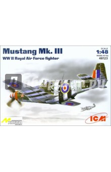 Mustang Mk. III Английский самолет (48123)