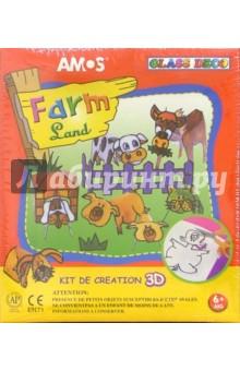 """Набор для детского творчества """"Farm Land 3D"""" 13 предметов /20643 (подарочная картонная упаковка)"""