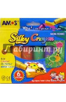 "Краски ""3 в 1"" 6 цветов /19841 (картонная упаковка)"