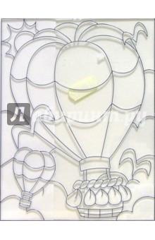 Витраж пластиковый Воздушный шар /19818