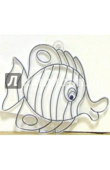 Витраж пластиковый Рыбка (мини) /19810