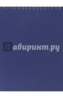 Блокнот А5 50 листов (не линованный) Ассорти /С25401 (пружина)