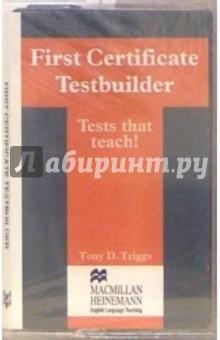 А/к. First Certificate Testbuilder к курсу Language Practice First Certificate with key
