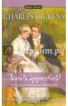 David CopperfieldХудожественная литература на англ. языке<br>David Copperfield is the quintessential novel by England s most beloved novelist. Based in part on Dickens s own life, it is the story of a young man s journey from an unhappy and impoverished childhood to the discovery of his vocation as a successful novelist. Among its gloriously vivid cast of characters, he encounters his tyrannical stepfather, Mr. Murdstone; his formidable aunt, Betsey Trotwood; the eternally humble yet treacherous Uriah Heep; the frivolous, enchanting Dora; and one of literature s great comic creations, magnificently impecunious Mr. Micawber-a character resembling Dickens s own father. In David Copperfield-the novel he described as his favorite child-Dickens drew revealingly on his own experiences to create one of his most exuberant and enduringly popular works, filled with tragedy and comedy in equal measure.<br>WITH AN AFTERWORD BY GISH JEN.<br>