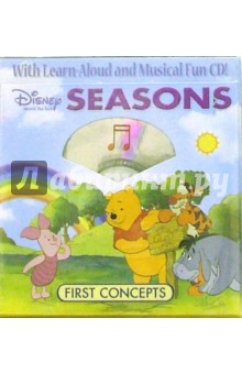 Pooh and Friends Seasons (4 книги + CD)