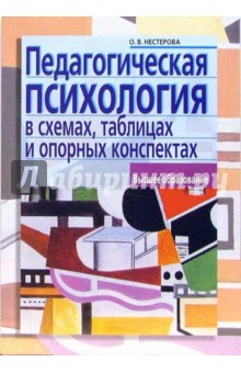 Педагогическая психология в схемах, таблицах и опорных конспектах: учебное пособие для вузов - Оксана Нестерова