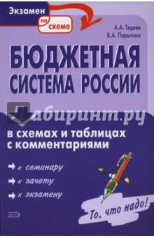Бюджетная система России в схемах и таблицах с комментариями - Тедеев, Парыгина