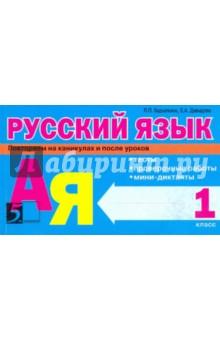 Русский язык: Тесты, проверочные работы, мини-диктанты. 1 класс - Барылкина, Давыдова