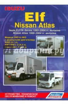 Isuzu ELF/N-Series 1993-2004 гг. выпуска. Nissan Atlas 1999-2004 гг. выпуска. Модели 2WD&4WD