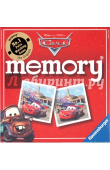 Настольная игра Тачки 2. Мемори