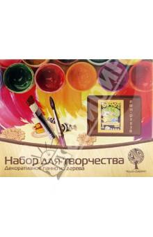 Купить Набор для творчества. Декоративноепанноиздерева Озорныемартышки (PMH-D005) ISBN: 6937890511511