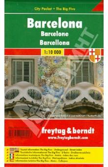 Barcelona. 1:10 000. City pocket + The Big Five