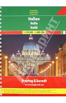 Italien. Superatlas 1:150 000 / 1:400 000 изображение обложки
