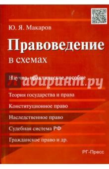 Правоведение в схемах. Научно-практическое пособие - Юрий Макаров