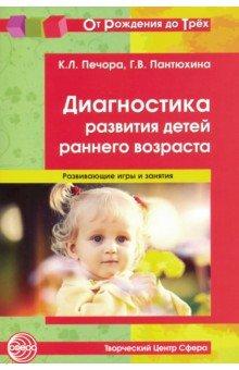 Диагностика развития детей раннего возраста - Печора, Пантюхина