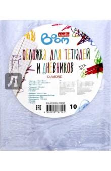 Купить Набор обложек для тетрадей и дневников, 10штук в упаковке (BS-A130SM-10DM) ISBN: 4606998767145