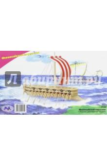 """Сборная модель """"Финикийский военный корабль"""" (P130)"""