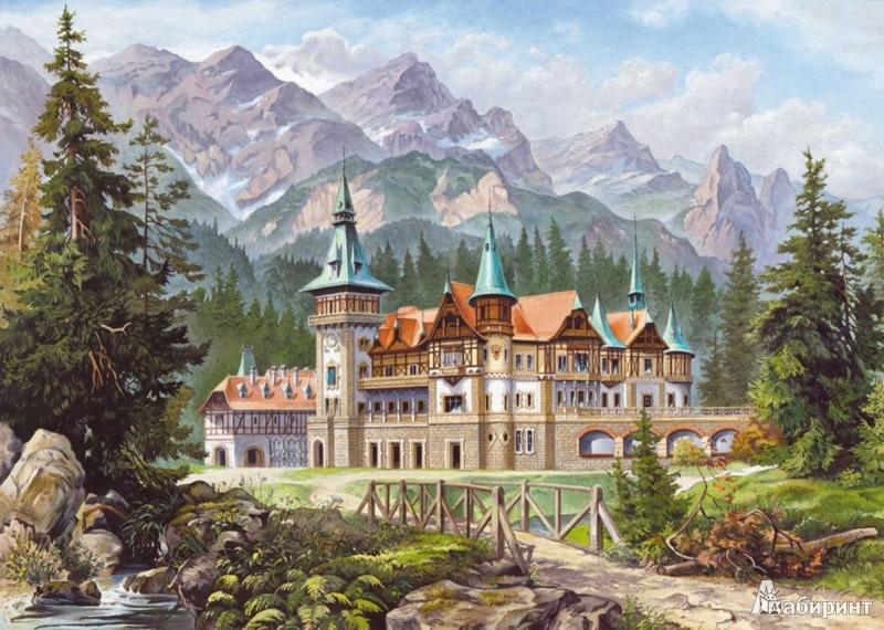 Иллюстрация 1 из 13 для Puzzle-3000. Замок у подножия гор (С-300099) | Лабиринт - игрушки. Источник: Лабиринт