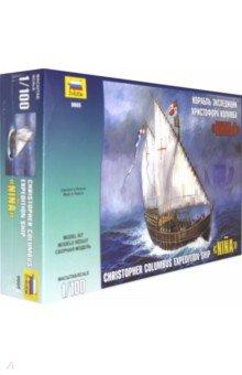 Купить Корабль экспедиции Христофора Колумба Нинья (М:1/100) (9005), Звезда, Пластиковые модели: Морфлот