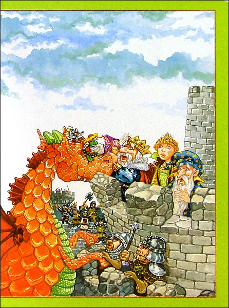 Иллюстрация 1 из 3 для Волшебный замок. Играй, наклеивай, сочиняй | Лабиринт - книги. Источник: Лабиринт