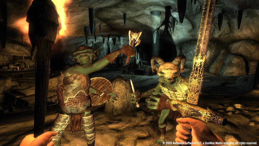 Иллюстрация 1 из 6 для The Elder Scrolls IV: Oblivion (DVD) | Лабиринт - книги. Источник: Лабиринт