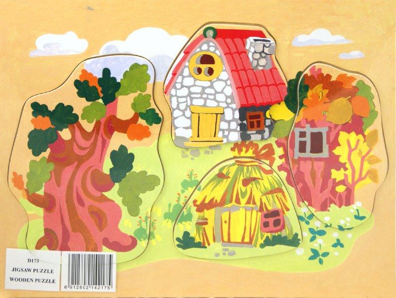 Иллюстрация 1 из 5 для Три поросенка (D173) | Лабиринт - игрушки. Источник: Лабиринт