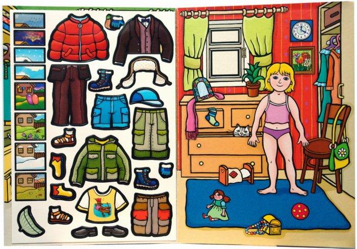Иллюстрация 1 из 6 для MG (Игры на магнитах): Наряди детей на прогулку | Лабиринт - игрушки. Источник: Лабиринт
