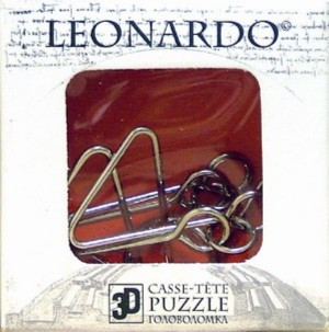 Иллюстрация 1 из 2 для Мини-головоломка / Leonardo Mini Wire 4 (476445) | Лабиринт - игрушки. Источник: Лабиринт