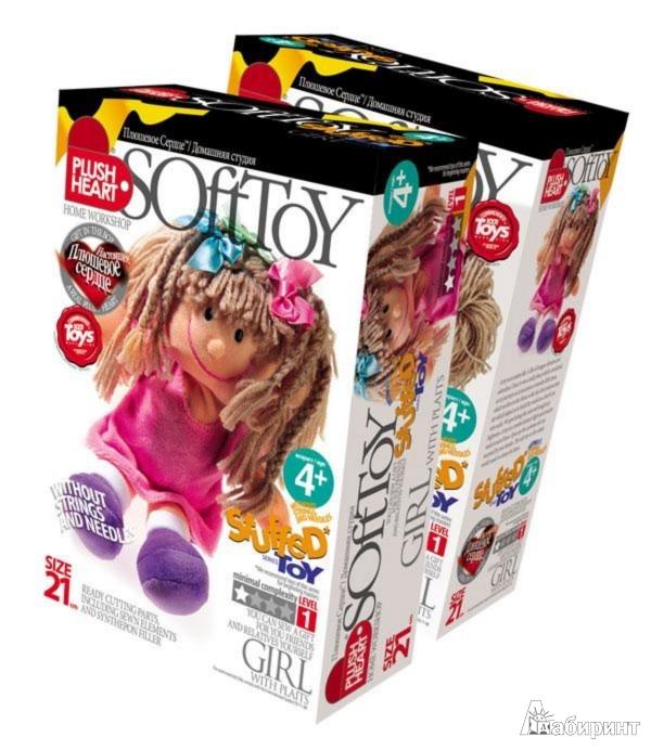 Иллюстрация 1 из 11 для Девочка с косичками (457052) | Лабиринт - игрушки. Источник: Лабиринт