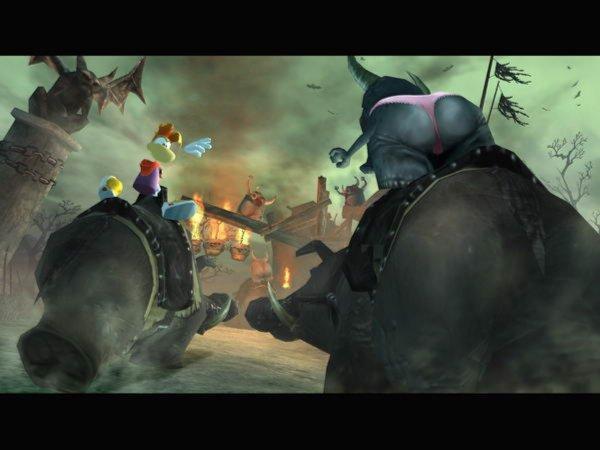 Иллюстрация 1 из 6 для Rayman: Бешенные кролики (DVDpc) | Лабиринт - софт. Источник: Лабиринт