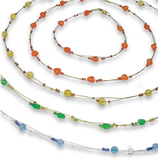 Иллюстрация 1 из 2 для Капельки: Набор для изготовления украшений  (ожерелье+браслет) | Лабиринт - игрушки. Источник: Лабиринт