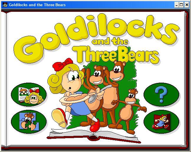 Иллюстрация 1 из 5 для Златовласка и Три Медведя (CDpc) | Лабиринт - софт. Источник: Лабиринт