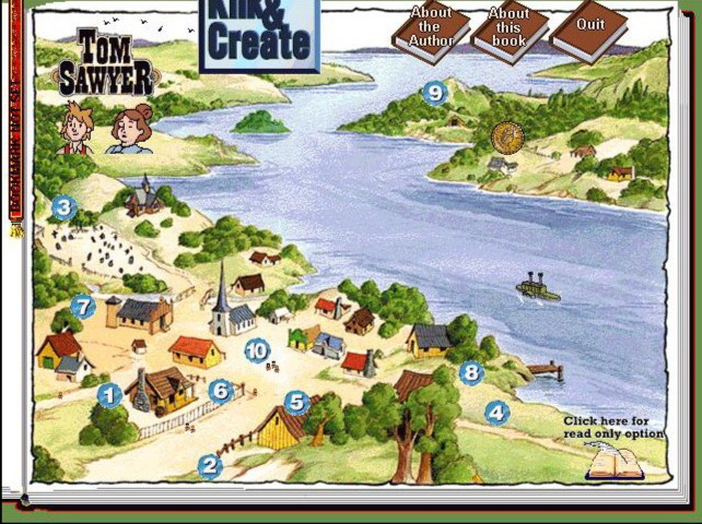 Иллюстрация 1 из 6 для Приключения Тома Сойера (CDpc) | Лабиринт - софт. Источник: Лабиринт