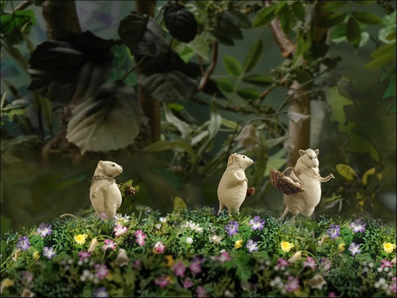 Иллюстрация 2 из 9 для Три маленькие белые мышки: Визит морской крысы (2CDpc) | Лабиринт - Источник: Лабиринт