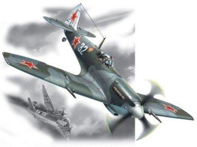 Иллюстрация 1 из 2 для Спитфайр LF.IX истребитель ВВС СССР ІІ МВ (48066) | Лабиринт - игрушки. Источник: Лабиринт