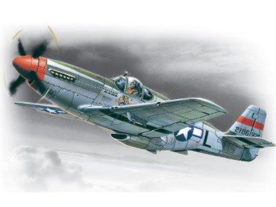 Иллюстрация 1 из 2 для Мустанг P-51C американский истребитель ІІ МВ (48121)   Лабиринт - игрушки. Источник: Лабиринт