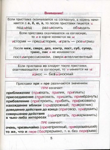 Иллюстрация 1 из 14 для Правила русского языка в таблицах и схемах - Елизавета Арбатова | Лабиринт - книги. Источник: Лабиринт