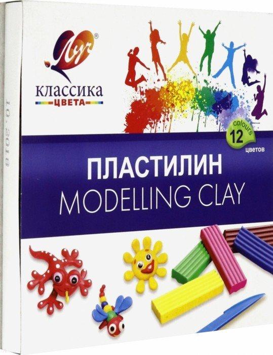 Иллюстрация 1 из 15 для Пластилин Детство 12 цветов (7С 331-08) | Лабиринт - игрушки. Источник: Лабиринт