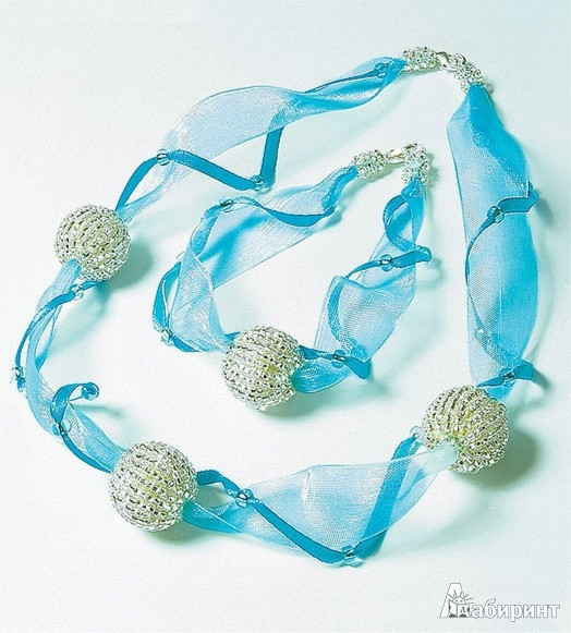 Иллюстрация 1 из 4 для Северное сияние (ожерелье+браслет) АА 08-609 | Лабиринт - игрушки. Источник: Лабиринт