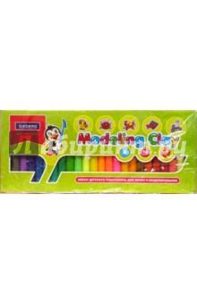 Набор пластилина 24 цвета в картонной коробке.